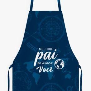 PAI 001-AV AVENTAL MELHOR PAI DO MUNDO
